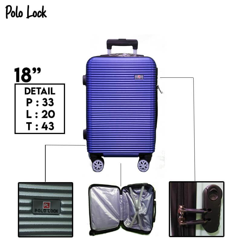 Polo Lock Biru