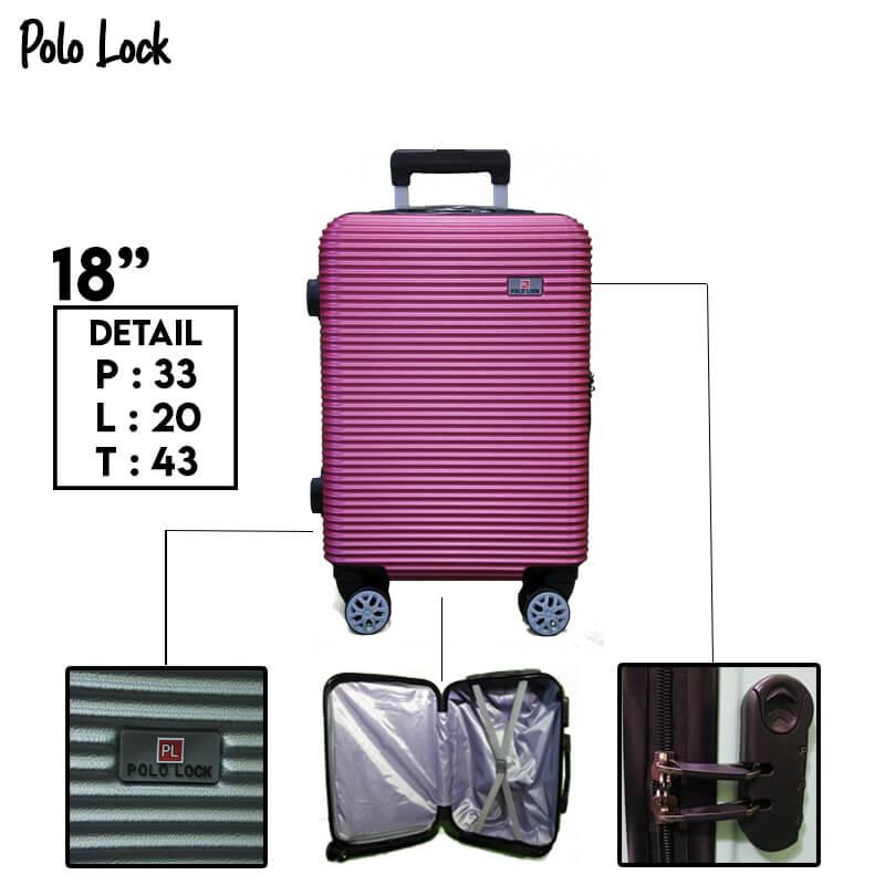 Polo Lock Pink