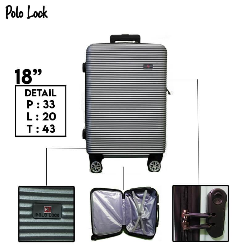 Polo Lock Silver